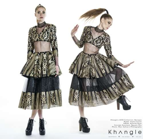 Work  by Khang Le, Marc Safran, Kayla Conine, Amanda Rose