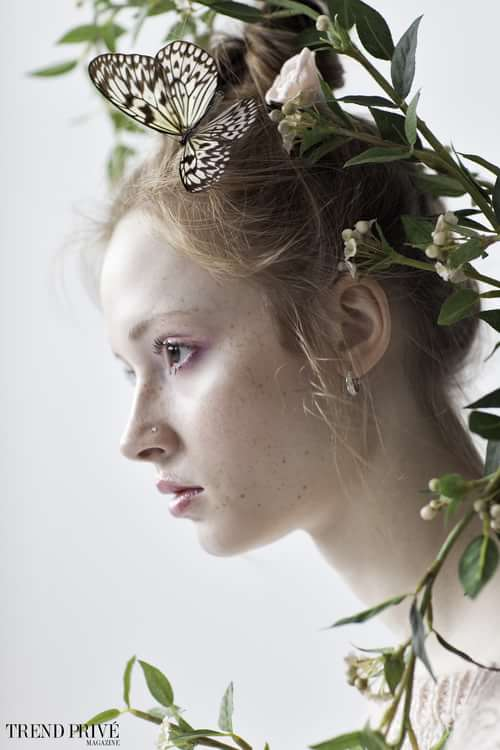 """Portraits of Corrina""    by Trend Prive Magazine, Melissa Mosher, Corrina Mack, Annie Fabiano"