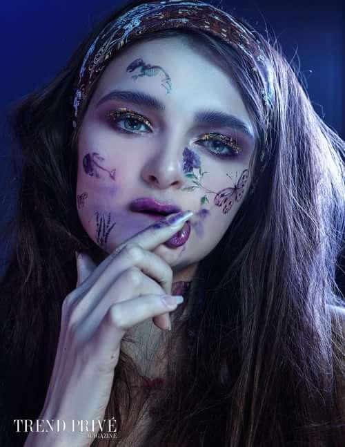 Work  by Trend Prive Magazine, Svetlana Samoilenko, Anastasia Mitiuk, Yana Pavlenko