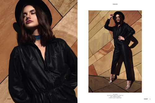ELEGANT Issue no 33 - February 2017   by Charlène Favier, Anthony Razakazafy, ELEGANT Magazine, Crystel Pilone, Louison Mu
