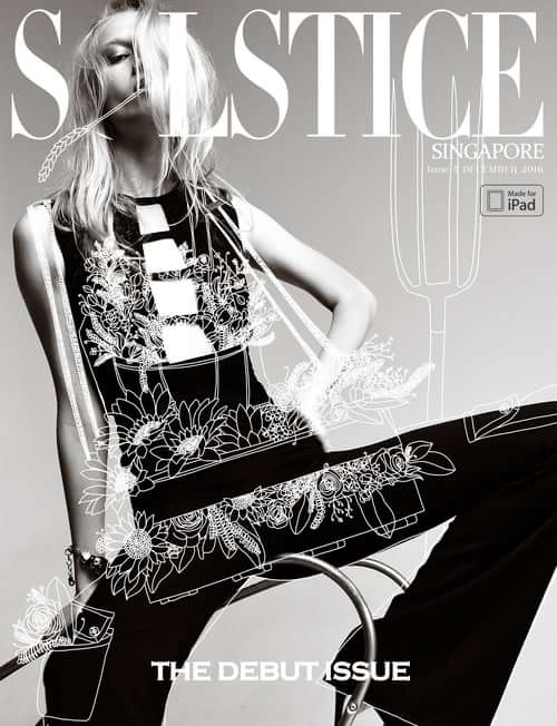 cover of Solstice Magazine Singapore   by Amer Mohamad