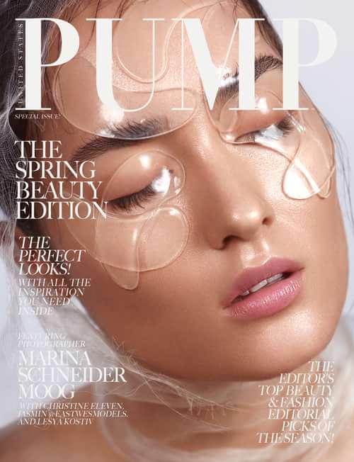 Work  by PUMP Magazine, Amanda-Noel Fischer, Marina Schneider-Moog, Lesya Kostiv, Christine Eleven, Jasmin @Eastwesmodels