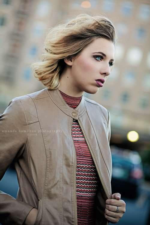 Dress: Free People Jacket: Baccini Rings: H&M   by Amanda Hamilton, Elena Ehrlin, Shayla Velazquez