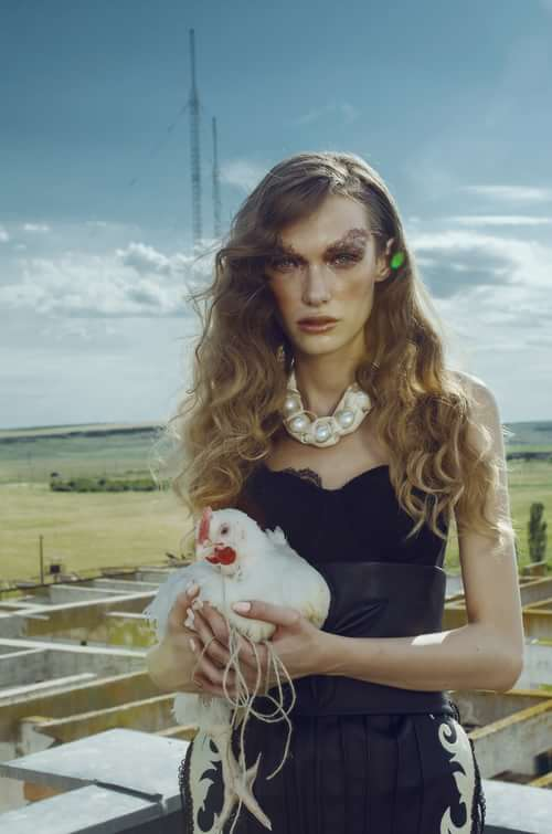 Work  by Trend Prive Magazine, Michelle de Rose, Model : Diana Toma (One models Agency Romania), Codrina Apostol, Alecsandra Costin