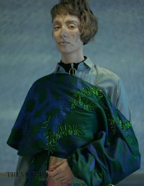 Work  by Trend Prive Magazine,  Caterina Gili, Angelika, Y. M. Adhimiharja