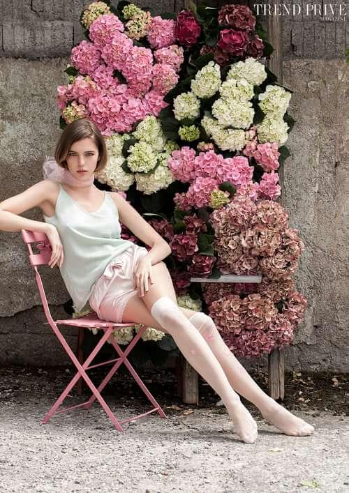 """Jardin""    by Trend Prive Magazine, Catalina Magee, Kati German, Anna Gambalonga, Caio Faria, Natallia Jolliet"