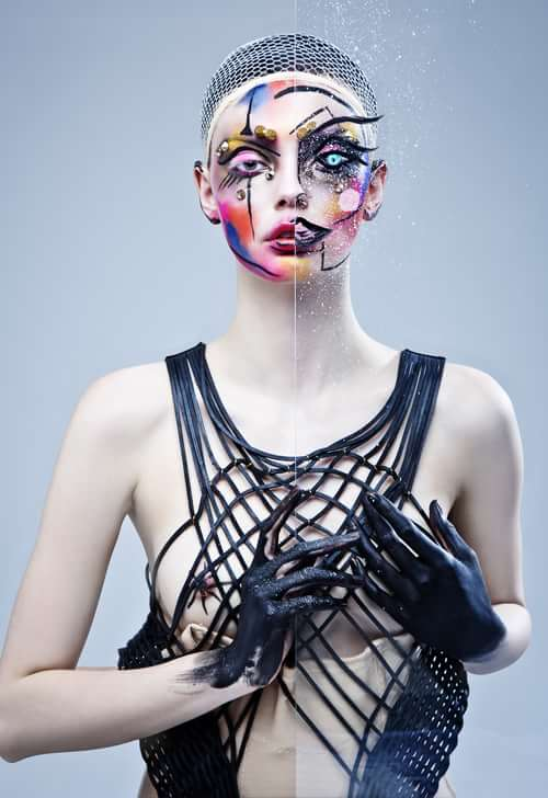 Work  by Trend Prive Magazine, Ben Asif , Catalina Magee, Myra Postolache, Einat dan make-up