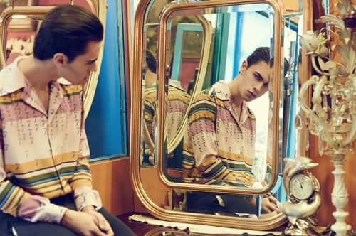 Broken Reflex Photographer: Simone Ammendola Styling: Gegenpole by Flavio Marcelli and Giorgia Bove Grooming: Kristel Zevini Model: Nico Falso @I'm model management Polo T-shirt: Marta Cocco    by Trend Prive Magazine, Marta Cocco, Simone Ammendola, Gegenpole By Flavio Marcelli, Giorgia Bove, Kristel Zevini, Nico Falso