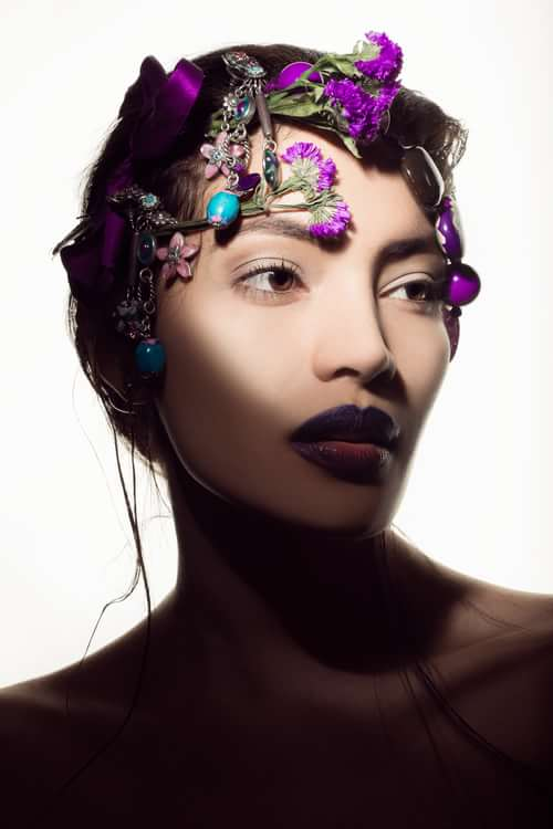 Into the Bloom   by Valeria Orlando, Gabriele Di Martino, Myra Postolache, Trend Prive Magazine, V)or Makeup By Valeria Orlando