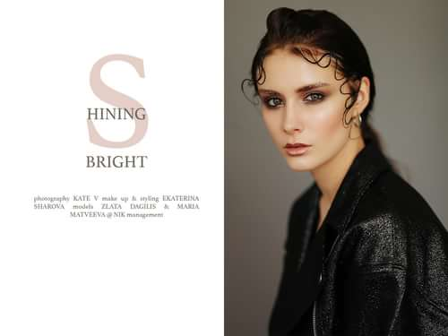 shining bright for fashion in motion magazine    by Kate Vtkbm, Fashion in Motion Magazine, Ekaterina Sharova