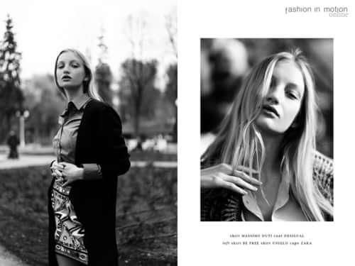 un giorno con lei for fashion in motion magazine    by Kate Vtkbm, Fashion in Motion Magazine, Elya Kerimova , Albina Sharifullina