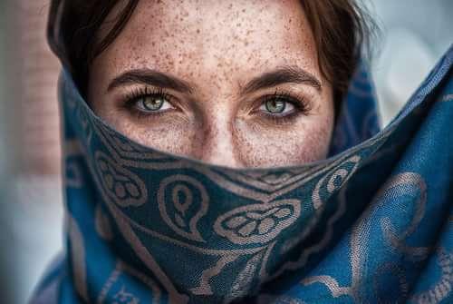 Work  by Behzad Rad , Art of Portrait, Anja Schulz