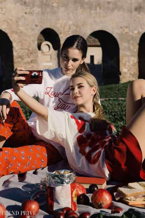 """Red""    by Trend Prive Magazine, Kevin Del Rosario, Francesca Basili, Amor Del Rosario,  Gabriella Piluso, Martina De Luca,  Isa, Lorenza"