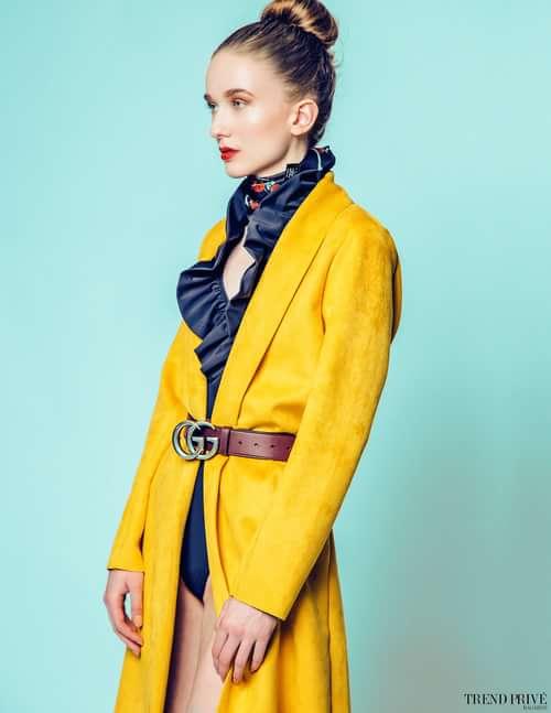 Work  by Trend Prive Magazine, Jian Von Esmane, Katina Nicolaou,  Taylor Macdonald, Hannah M