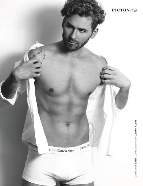 """30b11037fd ... Magazine"""" APRIL 2019 N92 MEN Cover 1 with model - Roman Fedorchenko.  http://www.magcloud.com/browse/issue/1595781 by CVH PHOTOGRAPHY Picton  Magazine ..."""