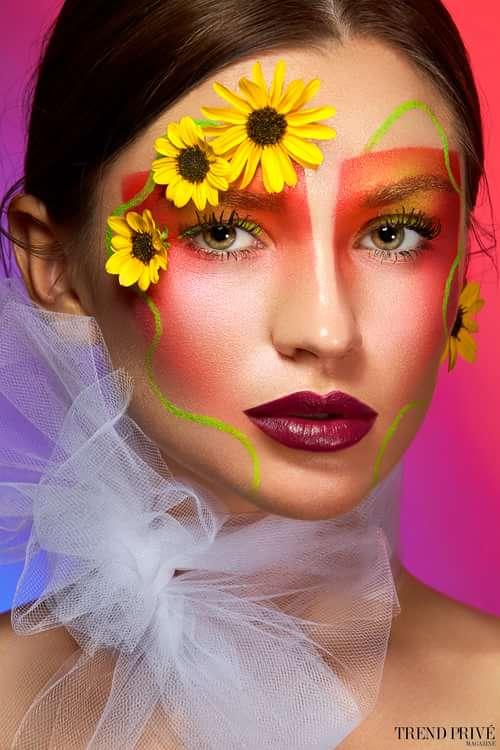 Work  by Julia Brig @juliabrigmua, Yuliya Loginovskaya, Alexey Olivenko, Trend Prive Magazine