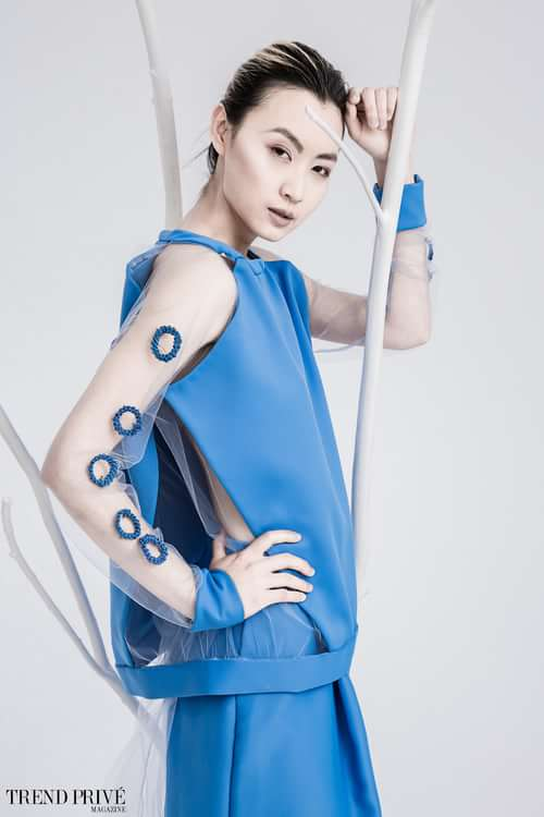 """Fleur de Girve""    by Trend Prive Magazine, Evangelos Rodoulis, Bingyang Liu, Irina Alexandrovna Oleksjuk"