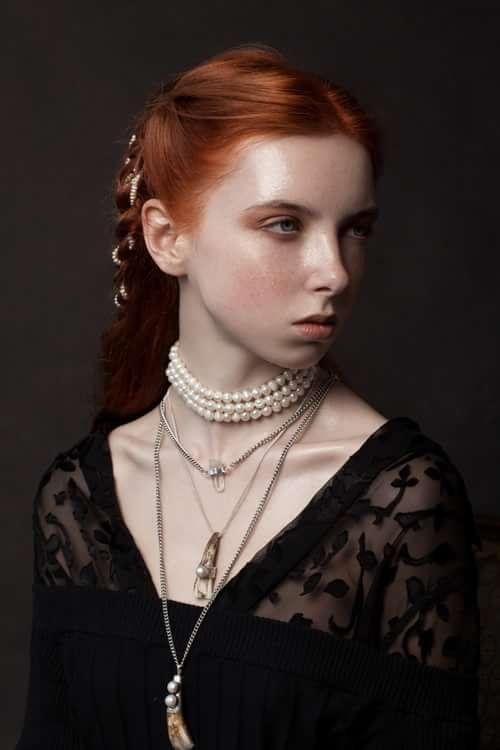"""Dark Thoughts""    by Trend Prive Magazine, Anna DeLuna, Olga Ivanova , Elena"