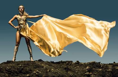 Work  by Ivonne Carlo Sellés Starbuck, Miss Aniela, Minna Attala, Grace Gray, Elbie Van Eeden, Divamp Couture