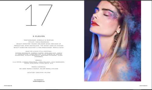 Work  by Valeria Orlando, Gabriele Di Martino, Myra Postolache, Trend Prive Magazine, V)or Makeup By Valeria Orlando