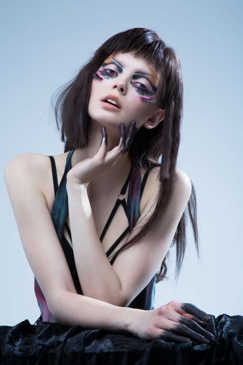 Work  by Trend Prive Magazine, Ben Asif , Einat dan make-up