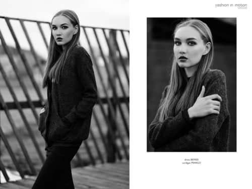 Autumn mood for fashion in Motion magazine    by Kate Vtkbm, Fashion in Motion Magazine, Albina Sharifullina, Olya Mozhaeva