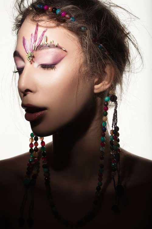 Into the Bloom   by Valeria Orlando, Gabriele Di Martino, Trend Prive Magazine, V)or Makeup By Valeria Orlando