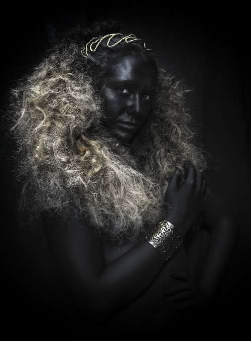 Work  by Iván RDC Photography, Apropos Make Up , Lady Scissors, Aida