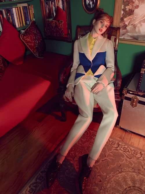 Work  by Trend Prive Magazine, Yuti Chang, Catalina Magee, Ching-ya Chen, Masha Minaev, Delpozo, Kiyonori Sudo, Cat Carney