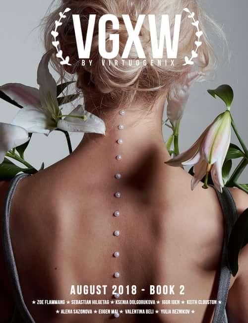 https://virtuogenix.online/vgxw-august-2018-book-2/   by Miu Vermillion, VGXW Magazine, Ksenia Dolgorukova, Artem Sedanov, Anastasia Osokina, Ksenia Shepeleva