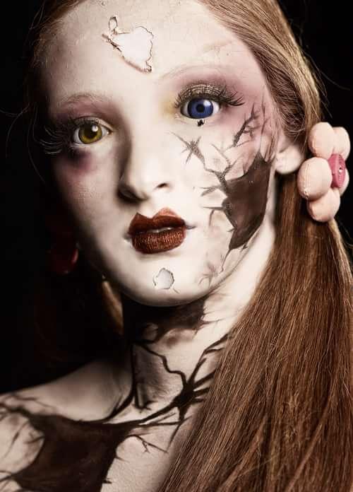 Broken Doll   by Ivonne Carlo Sellés Starbuck, Radikal Makeup, Angélica Fabiola