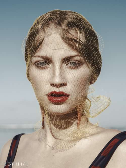 Work  by Trend Prive Magazine, Sarah Akrour, Elena Iv-skaya
