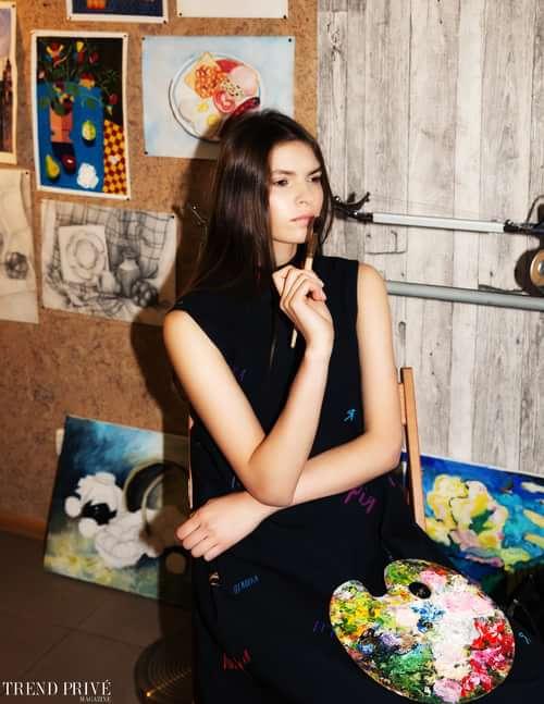 Work  by Trend Prive Magazine, Aliona Kuznetsova, Iryna Dudar, Sayya Design, Anna Klunna