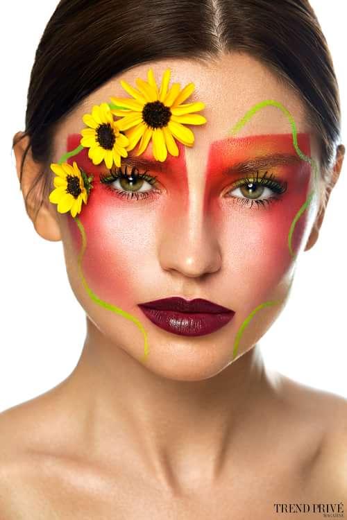 """Breath of Spring""    by Trend Prive Magazine, Julia Brig @juliabrigmua, Catalina Magee, Alexey Olivenko,  Yuliya Loginovskaya"