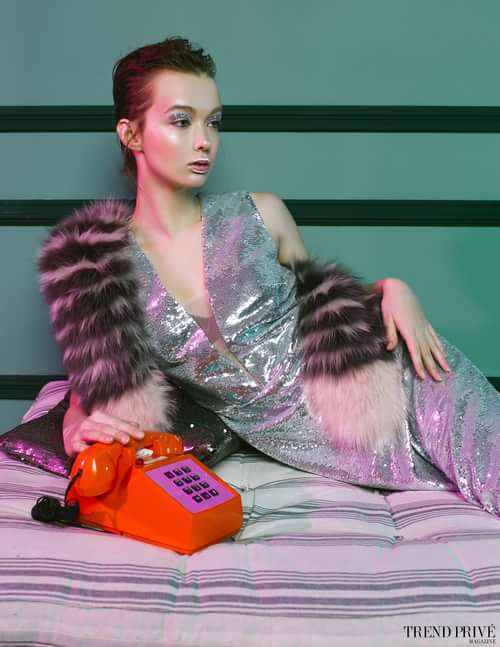 Work  by Dmitry Derkach, Trend Prive Magazine, Julia Koroleva, Julia Migynova, Daria Poliakova, Alina Kamenskay