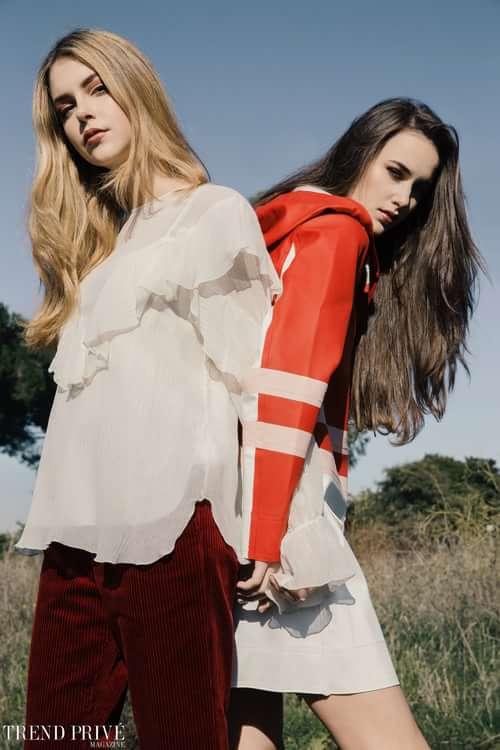 """Red""   by Trend Prive Magazine, Kevin Del Rosario, Francesca Basili,  Gabriella Piluso, Amor Del Rosario, Martina De Luca,  Isa, Lorenza"
