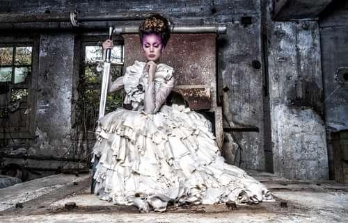 Work  by Iván RDC Photography, Apropos Make Up , Lady Scissors, Noemi Meilan, La Tua Pelle Costure