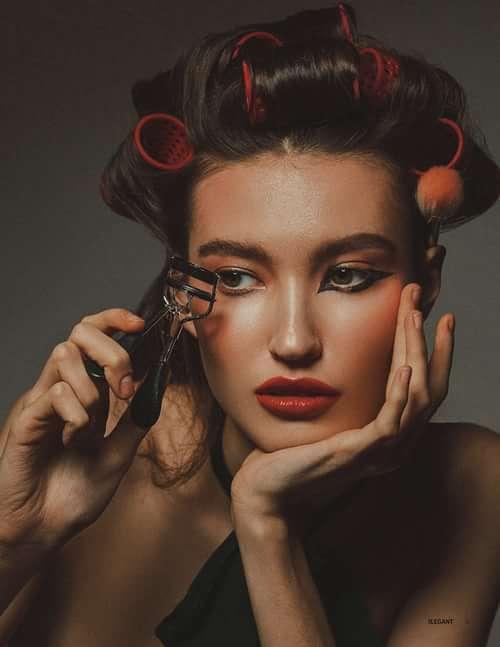 Work  by LiLi Bondarenko, Irina Mulina, ELEGANT Magazine, Masha Klochikhina
