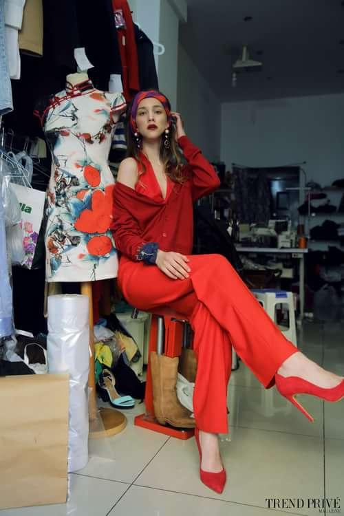 Work  by Trend Prive Magazine, Gong Bei, Svetlana Karulina,  Giulia Martina Uzzo, Maria Eva