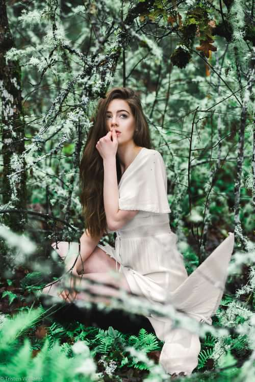 surrounded by this green world of ours   by Tristen Williams, Art of Portrait, Alicia Maclaren