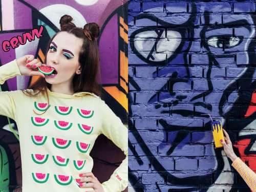 PHOTO & RETOUCH: Debora Di Donato MODEL & STYLING: Elena S. Bocaneala MUAH & ARTWORKS: Desirè Matani    by Trend Prive Magazine, Catalina Magee, Debora Di Donato , Elena S. Bocaneala, Desire Matani MUA
