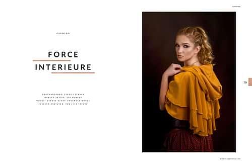 Work  by Jason Sturges, Sydney Olson, Abi Warner, ELEGANT Magazine