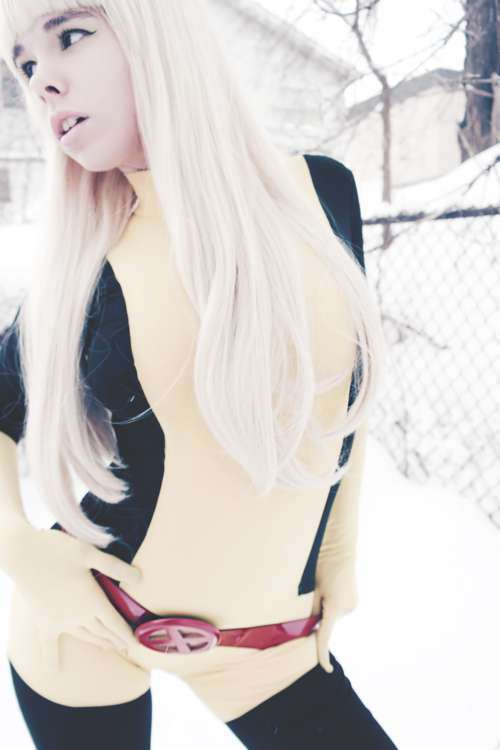 Cosplay as Magik from X-Men.    by Pigeon Foo, Hollow Twopointfive