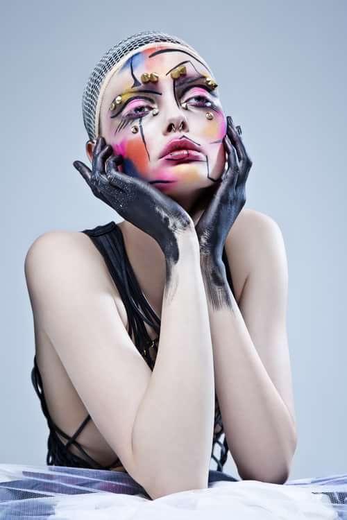 Work  by Trend Prive Magazine, Ben Asif , Einat dan make-up