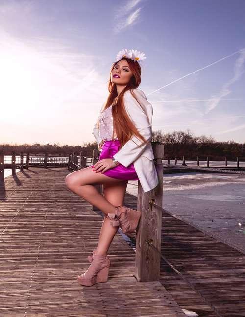 Model: Sarah, Photographer: Marcel (Cdot)   by Akua Robinson